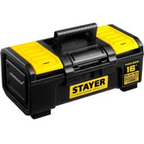 Ящик для инструмента TOOLBOX-16 STAYER 390 х 210 х 160, пластиковый 38167-16 Professional