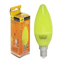 Лампа светодиодная Ecola Candle LED Color 6W E14 Yellow C4TY60ELY